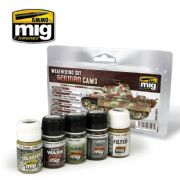 GERMAN CAMO WEATHERING SET<br>A.MIG-7443